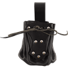 Medieval Belt Pouch with Black Trim