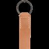 Twisted Iron Ring Leather Belt