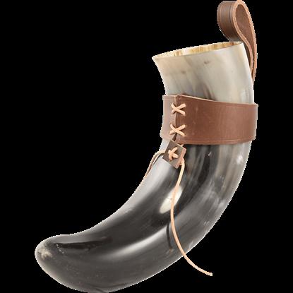 Sigurd Viking Horn with Holder