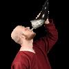 Floki Drinking Horn with Holder