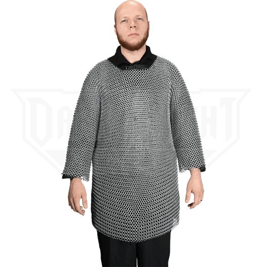 Butted Chainmail Haubergeon