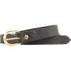 Medieval Leather Buckle Belt - Black