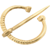 Small Brass Cloak Pin
