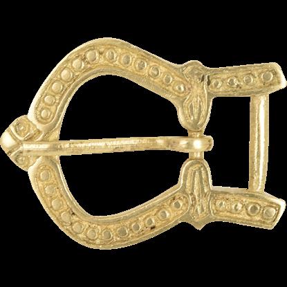 Ornate Brass Belt Buckle