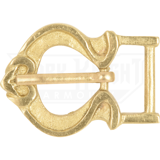 Fleur Brass Belt Buckle