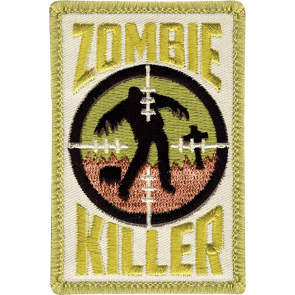 Cloth Zombie Killer Patch
