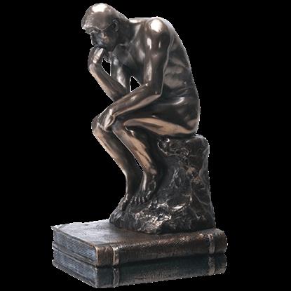 Bronze Thinker Statue