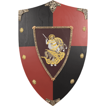 Black Prince Wooden Shield