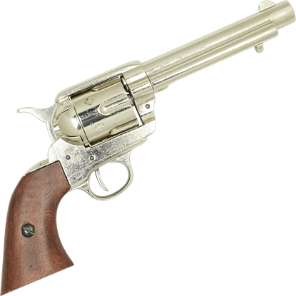 1873 Cavalry Model Revolver Nickel