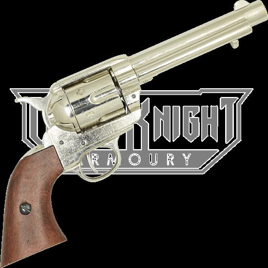 1873 Cavalry Model Revolver Nickel