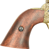 .45 Army Revolver Engraved Brass