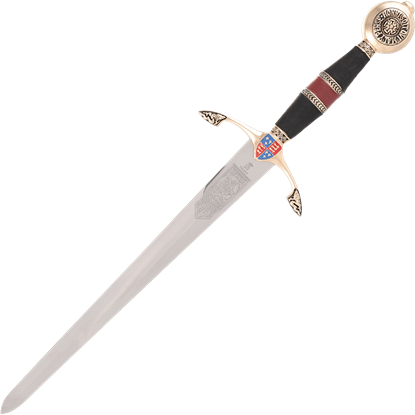 Black Prince Dagger with Scabbard