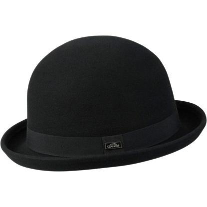 Bowler Derby Wool Hat