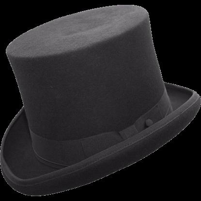 Edward Wool Top Hat