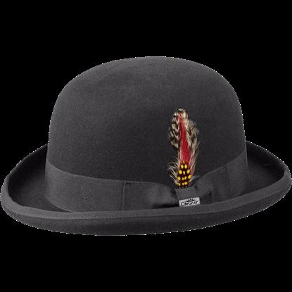 Humphrey Wool Bowler Hat