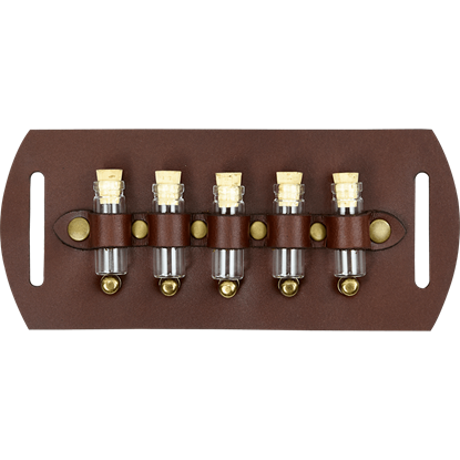 Five Bottle Steampunk Belt Slide