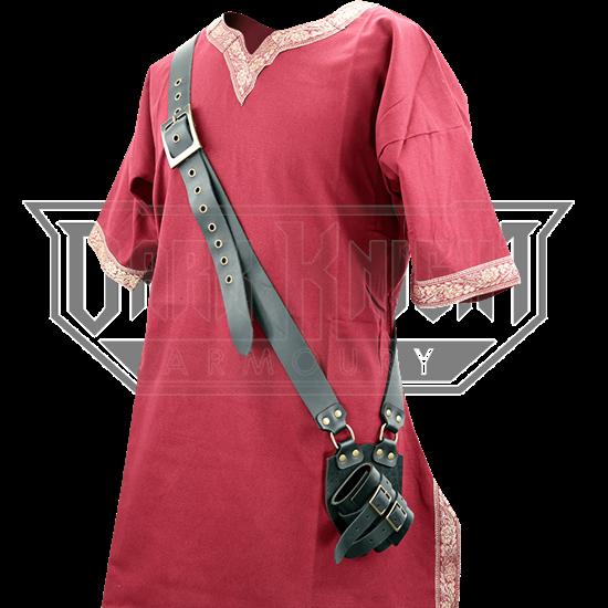 Medieval Leather Baldric