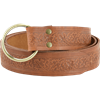 Woodland Embossed Ring Belt