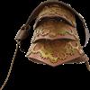 Leather Steampunk Gear Single Pauldron