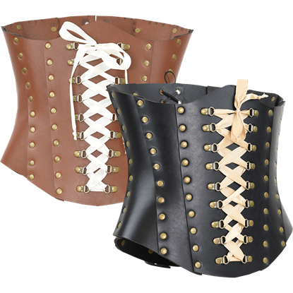 Isabella Leather Corset