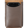 Open Top Leather Phone Holder