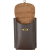 Leather Phone Holder with Clasp