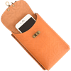 Celtic Leather Phone Holder with Clasp