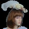 Antoinette Renaissance Hat - Rose and Cream