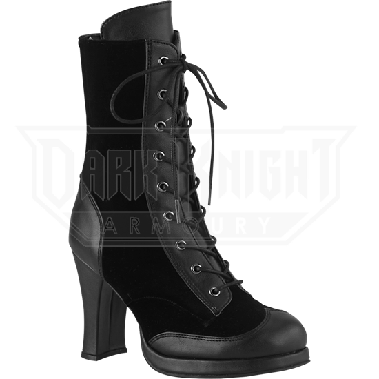 Womens Crypto High Heel Gothic Boots
