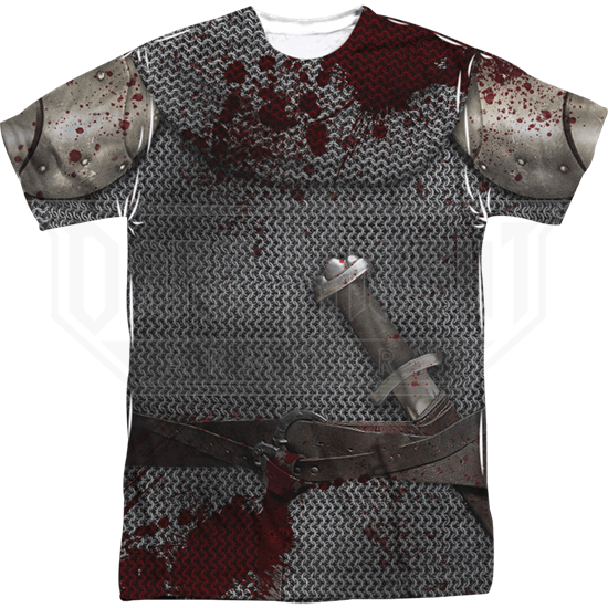 Battle Worn Knight T-Shirt