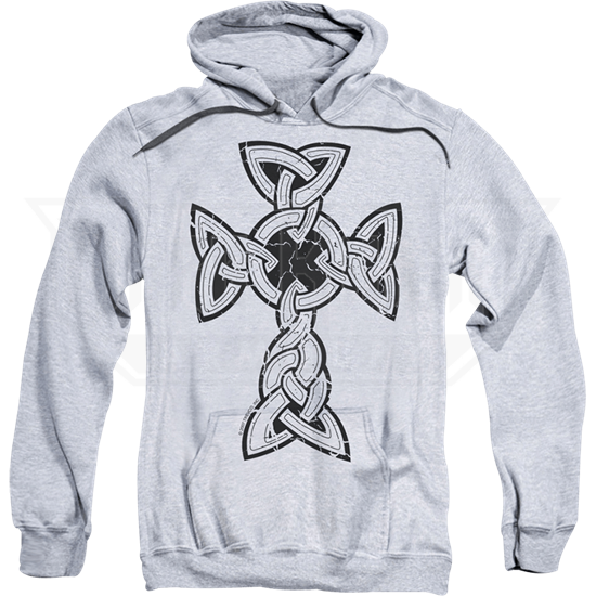 Knotted Celtic Cross Hoodie