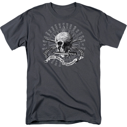 Here There Be Pirates T-Shirt