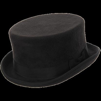 John Bull Black Top Hat