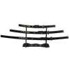 Black Pearl Dragon Japanese Sword Set