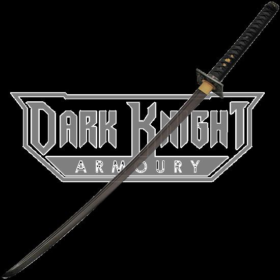 Black Blade Dragon Katana