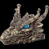 Steampunk Dragon Head Trinket Box