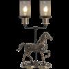 Steampunk Horse Lamp