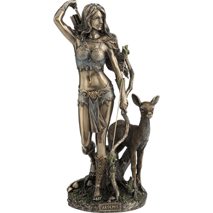Artemis of the Hunt Statue