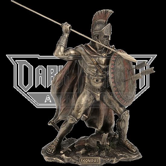 Spartan King Leonidas Statue