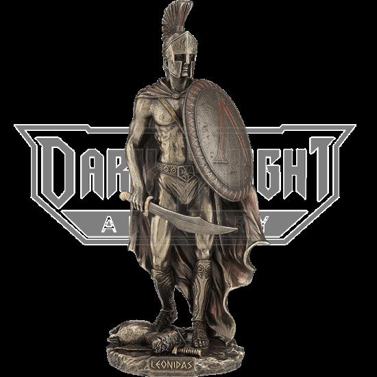 Leonidas with Sword Statue