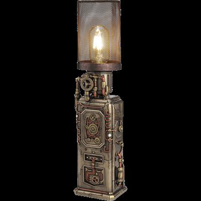 Steampunk Tower Lamp
