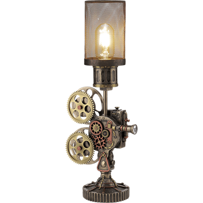 Steampunk Projector Lamp