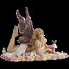 Jeweled Pink Fairy Statue