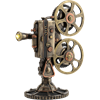 LED Steampunk Projector Statue
