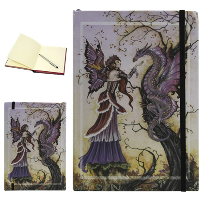 Dragon Charmer Embossed Fantasy Journal