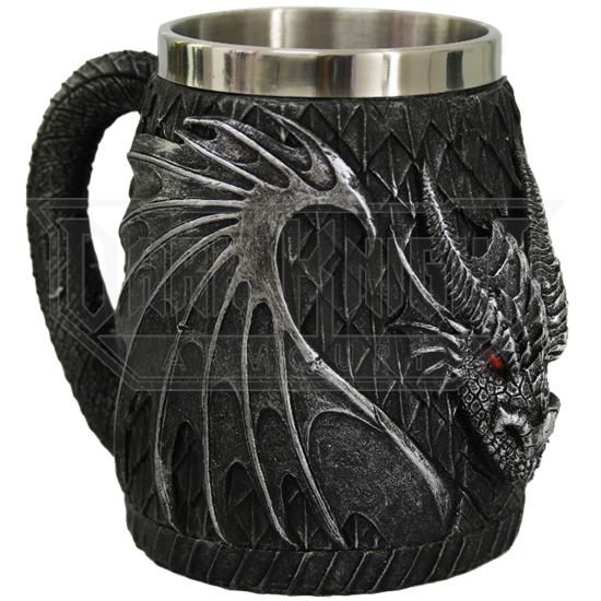 Black Dragon Scale Tankard