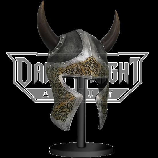 Viking Helmet Sculpture