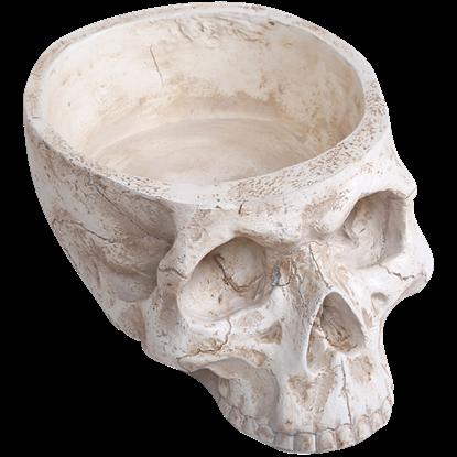 Bone Skull Planter
