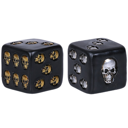 Set of 2 Skull Dice