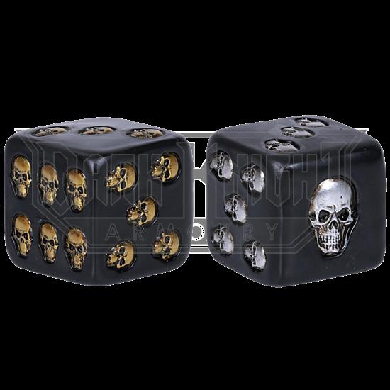 Set of 2 Skull Dice